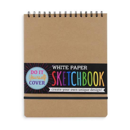Ooly D.I.Y. Cover Sketchbook 8x10.5 Kraft