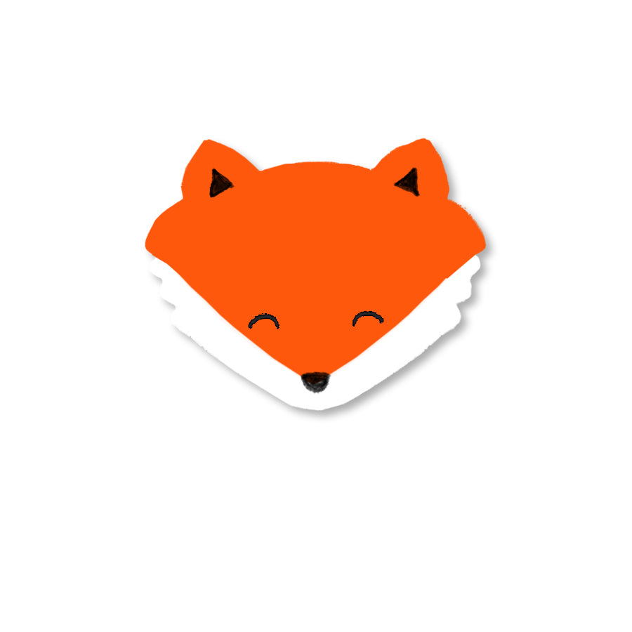 Fox Mini Magnet