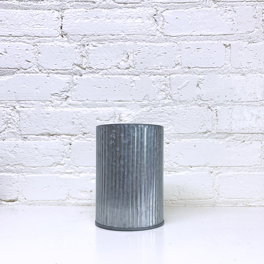 Galvanized Containers, 3 sizes