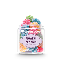 Load image into Gallery viewer, Candy Club Mother's Day Collection Flowers For Mom Sour Fruit Gummies