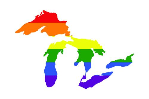 Great Lakes Proud Pride Decal