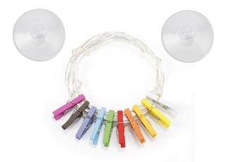 Mini Clothespin String Lights