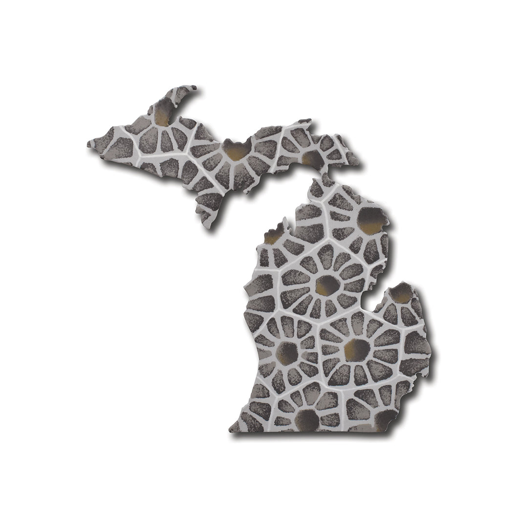 Michigan UP & LP Petoskey Magnet