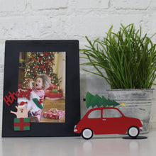 Load image into Gallery viewer, Car w/ Christmas Tree Magnet