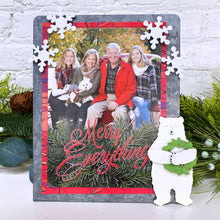 Load image into Gallery viewer, Snowflake Glitter Magnets