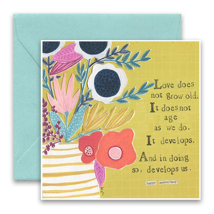 Develops Us Greeting Card