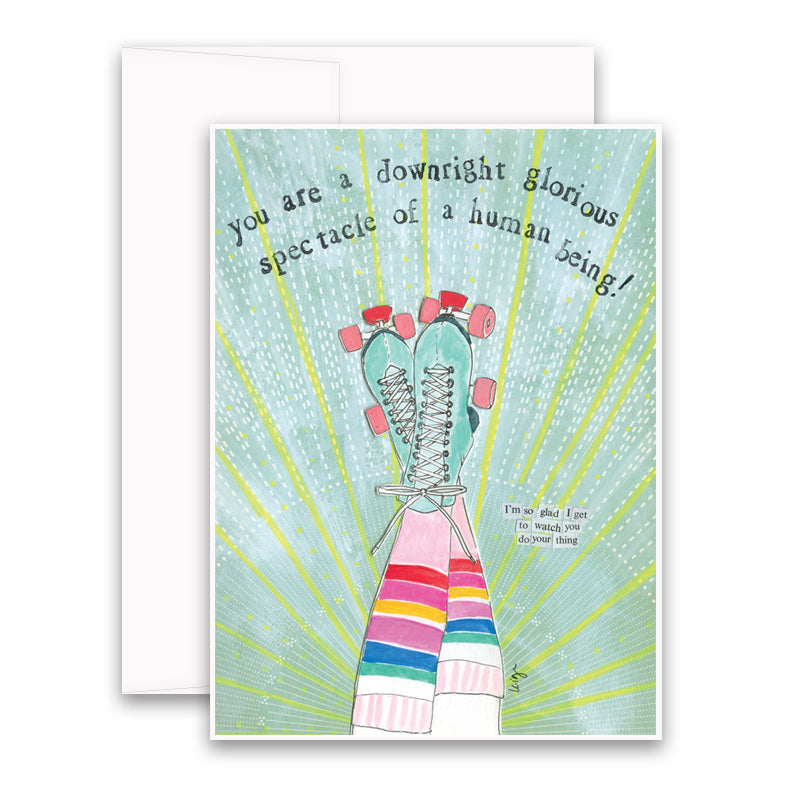 Glorious Spectacle Greeting Card