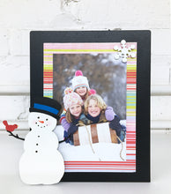 Load image into Gallery viewer, Snowman with Top Hat Magnet