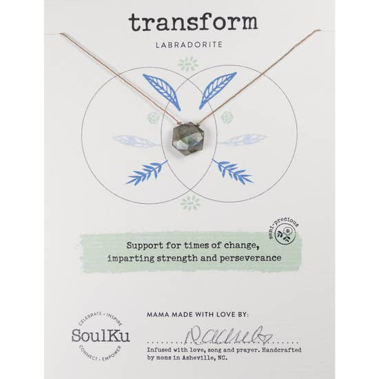Soulku Sacred Necklace Transform Labradorite