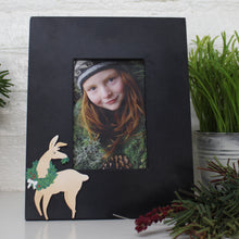 Load image into Gallery viewer, Llama with Wreath Magnet