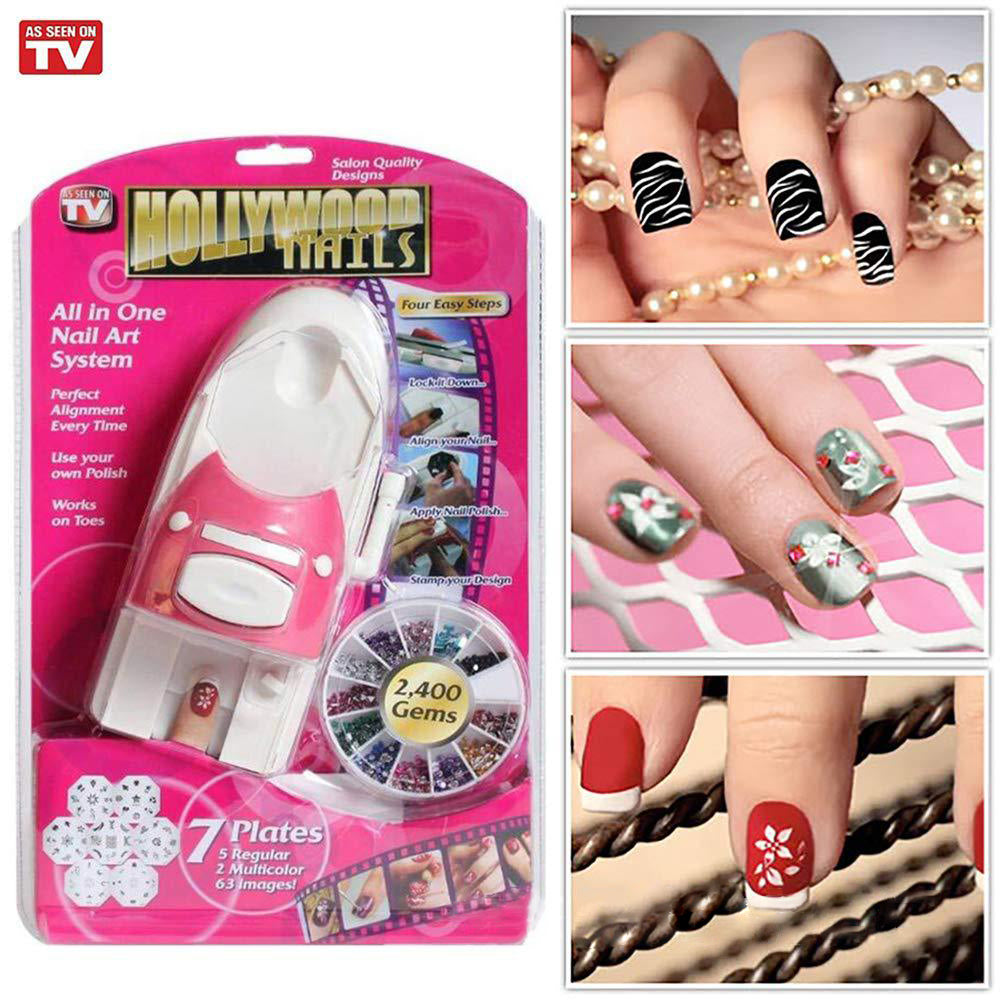 DIY Nail Art Drawing Machine-Last Day Promotion-40% OFF