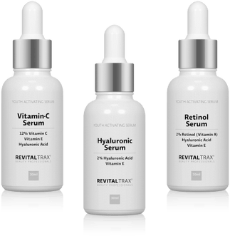 Click here for more information about the RevitalTrax Skincare Serums