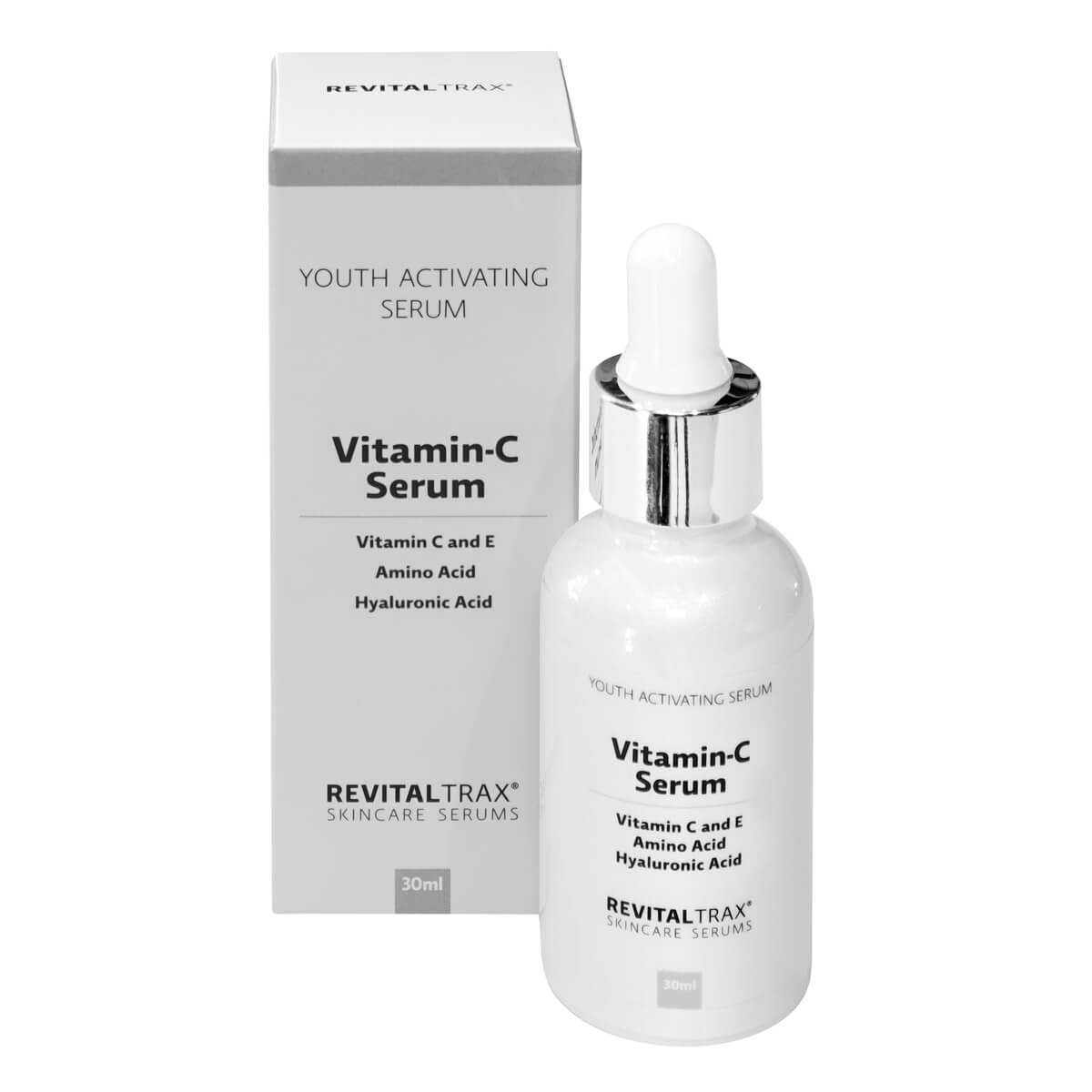 RevitalTrax Vitamin-C Serum with vitamins C and E, amino acid and hyaluronic acid