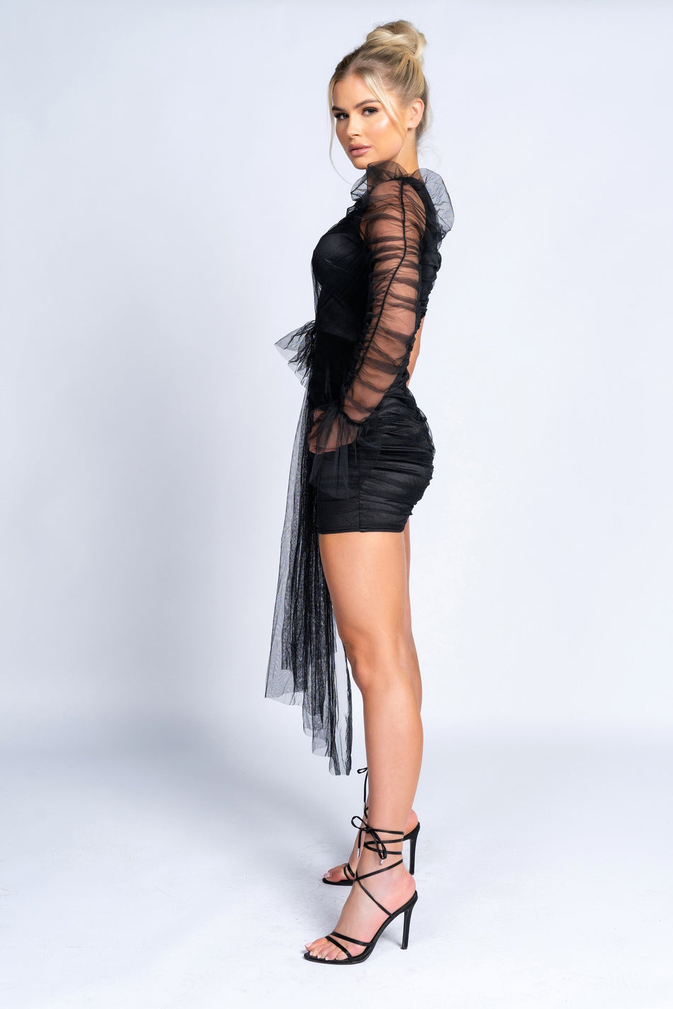MATILDA Tulle Dress (Black)