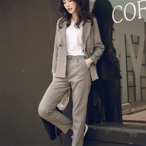 2 Two Piece Sets Short Gray