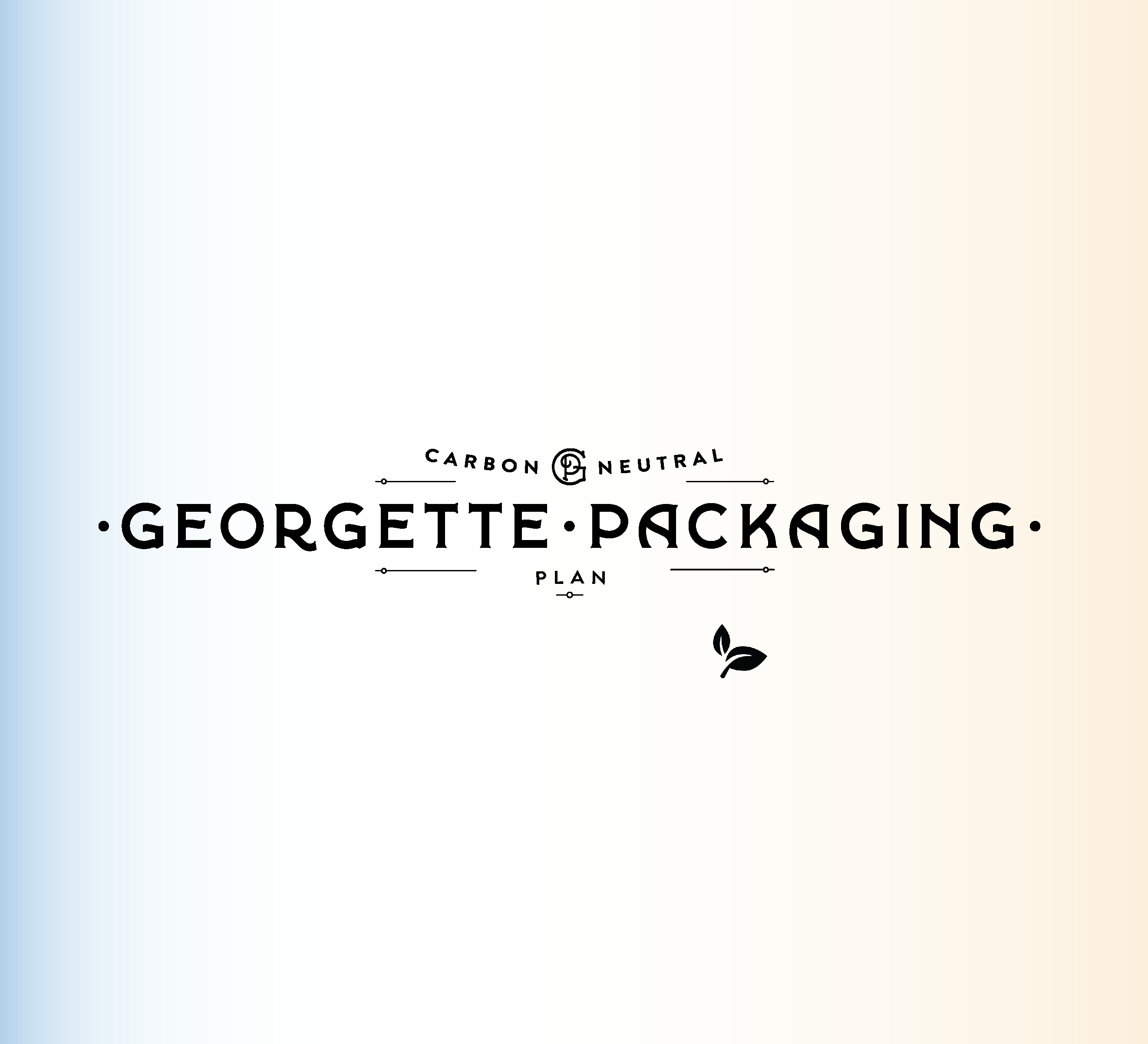 Carbon Neutral Packaging Georgette Packaging