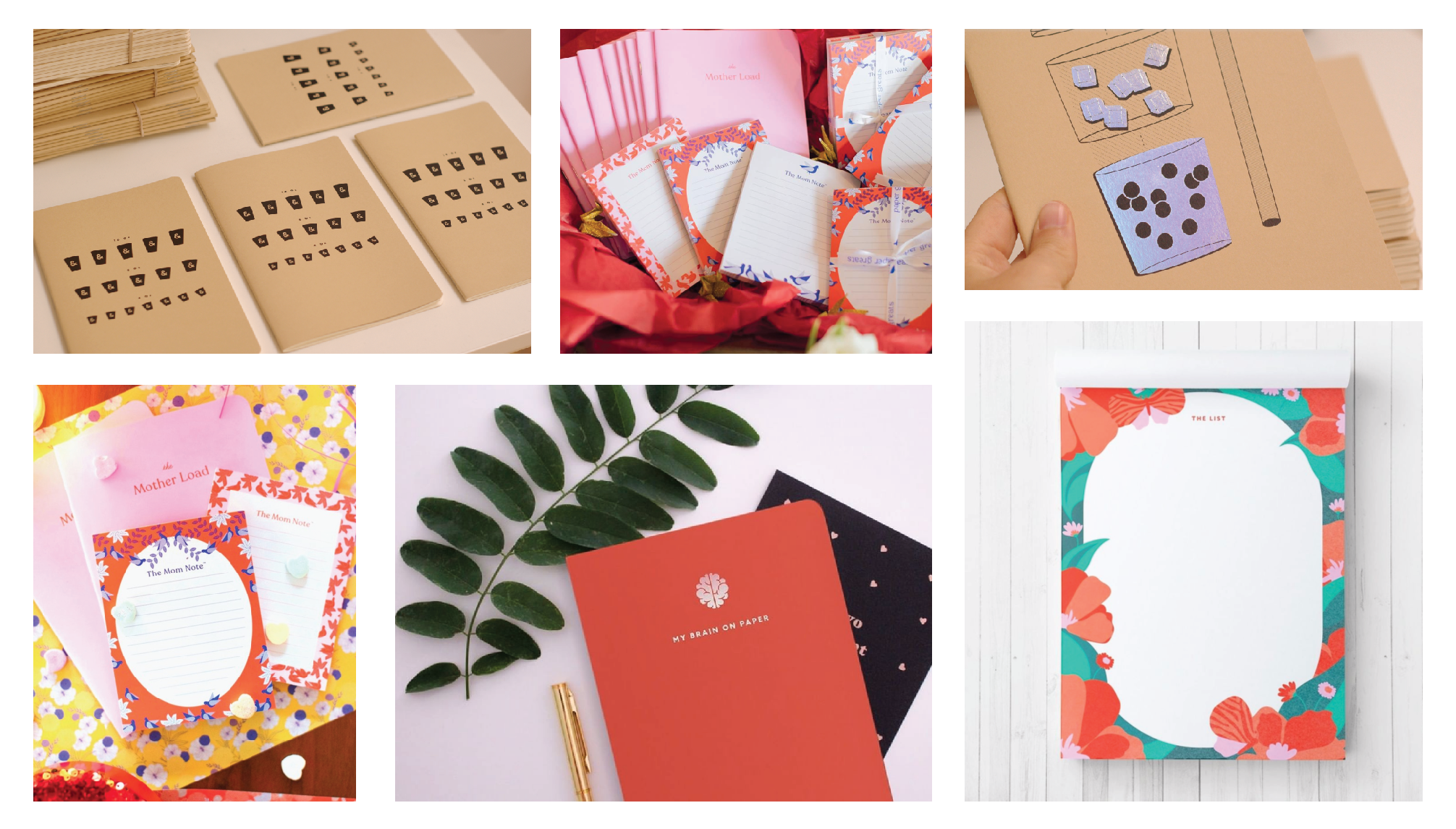 Notebooks by Georgette Packaging