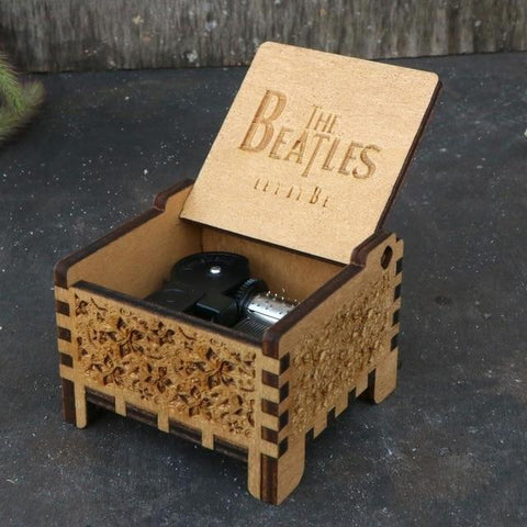 Image of Let it Be Automatic Automatic Music Box hellotunebox