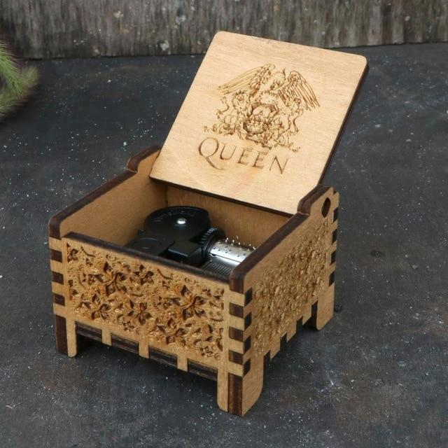 Queen Automatic Automatic Music Box hellotunebox