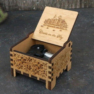 Castle In The Sky Automatic Automatic Music Box hellotunebox