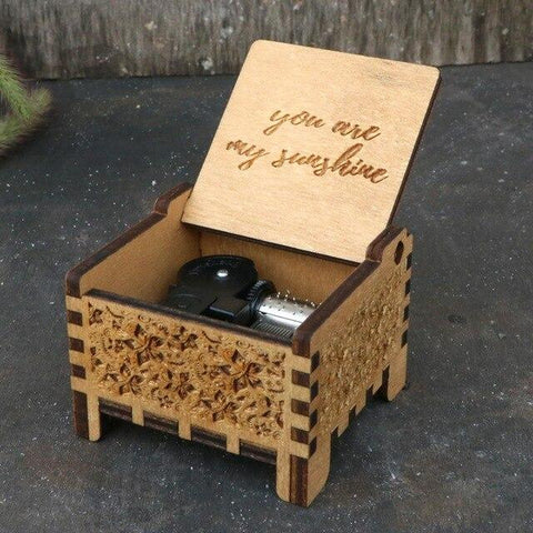 Image of You Are My Sunshine Automatic Automatic Music Box hellotunebox