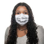 """Say Their Names"" Reversible Face Mask"