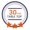 30 mm table top