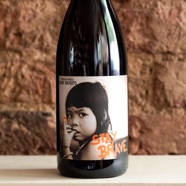 Stay Brave Chenin 2019, Baby Bandito, South Africa (Vegan friendly)