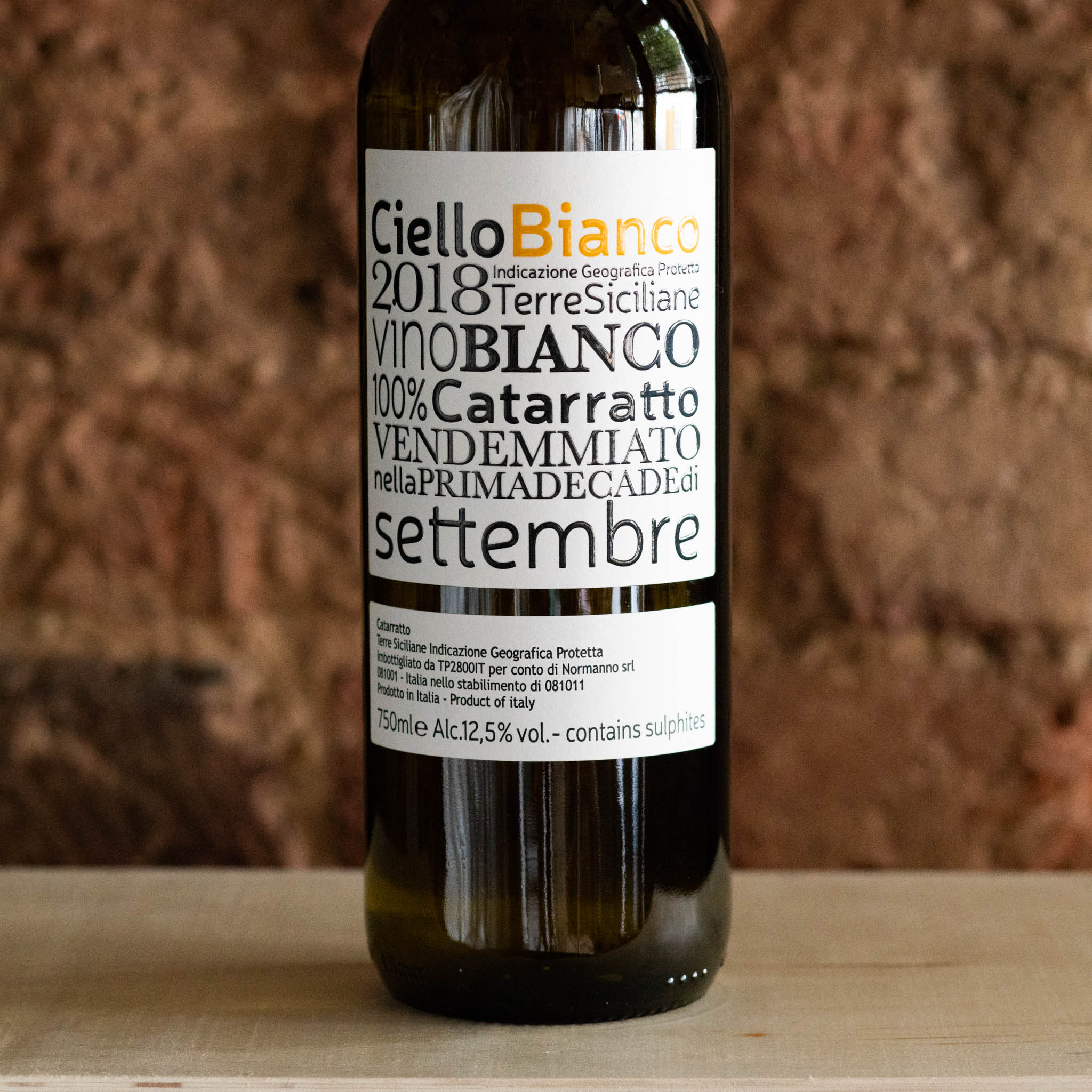 Catarratto IGP 2018, Ciello Bianco, Sicily - Vindinista