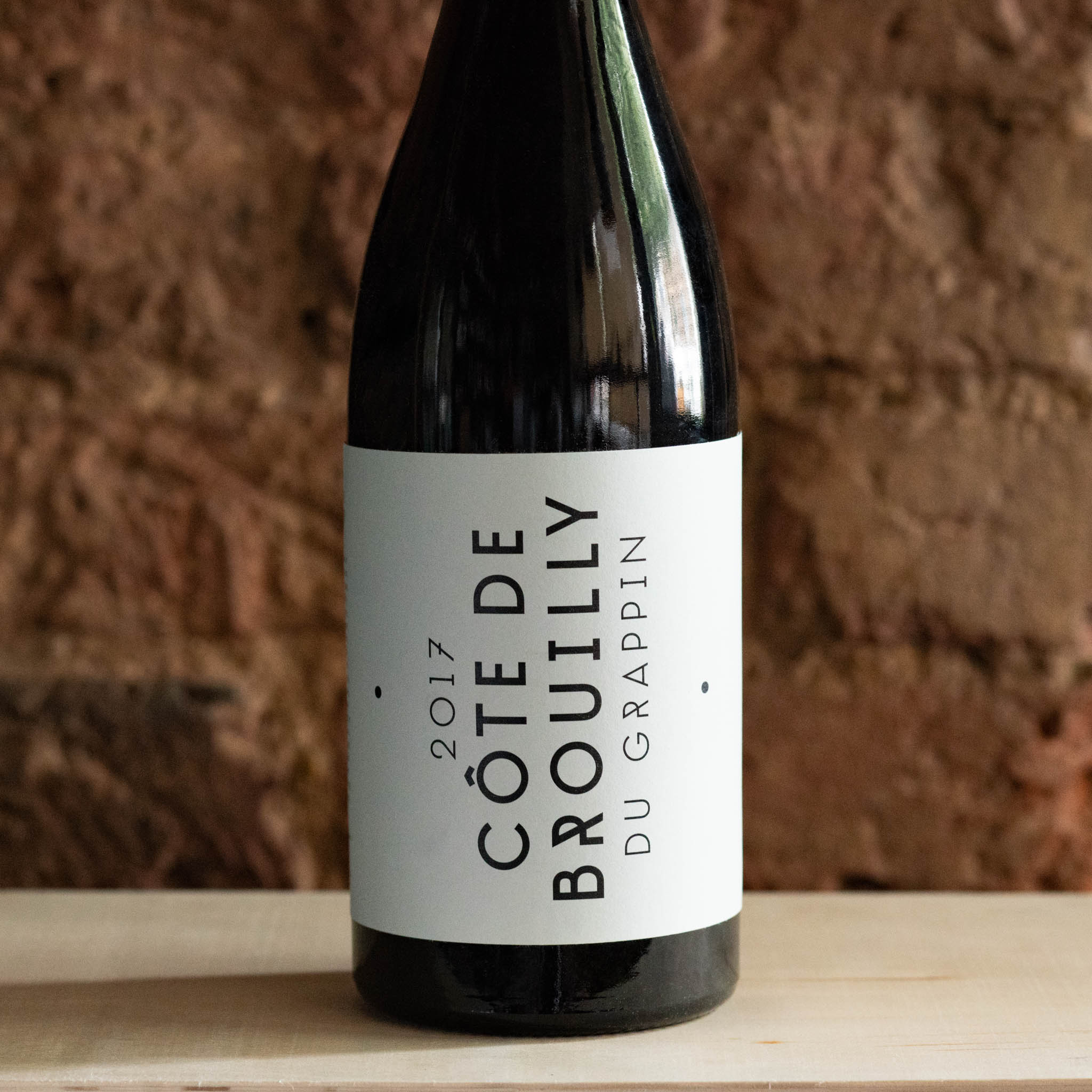 Cote-de-Brouilly 2017, Le Grappin, France - Vindinista