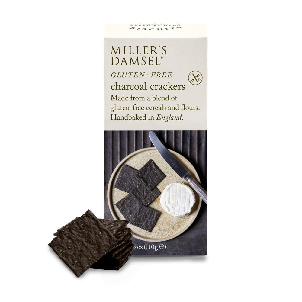 Gluten-free Charcoal Crackers - Vindinista