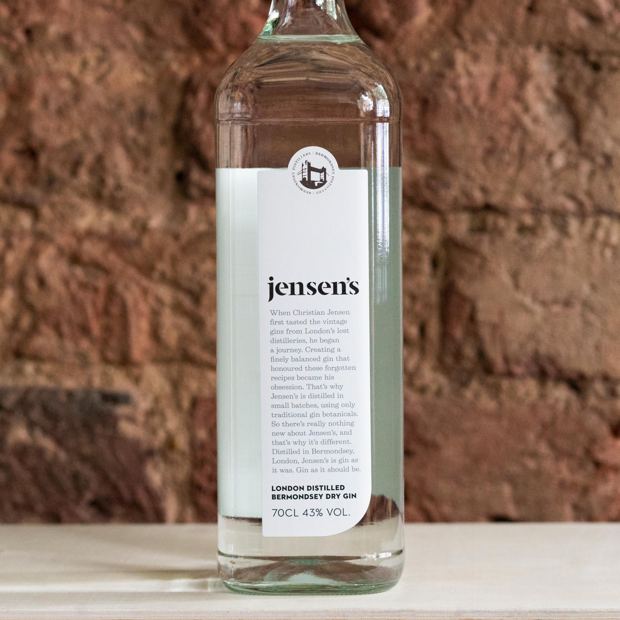 Jensen's Gin, UK - Vindinista