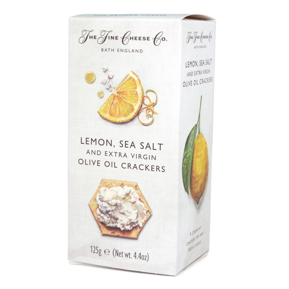 Lemon and Sea Salt Crackers - Vindinista
