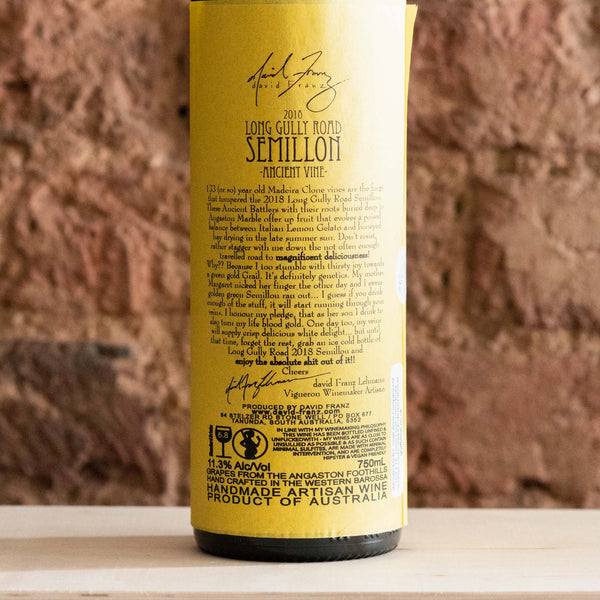 Long Gully Semillon - Vindinista