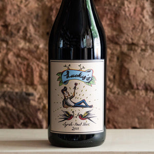 Lucky's Syrah-Pinot Noir 2018, From Sunday Winemakers, Australia - Vindinista