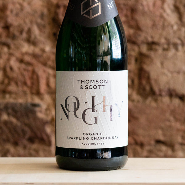 Noughty Alcohol Free Organic Sparkling Wine, Thompson % Scott, - Vindinista
