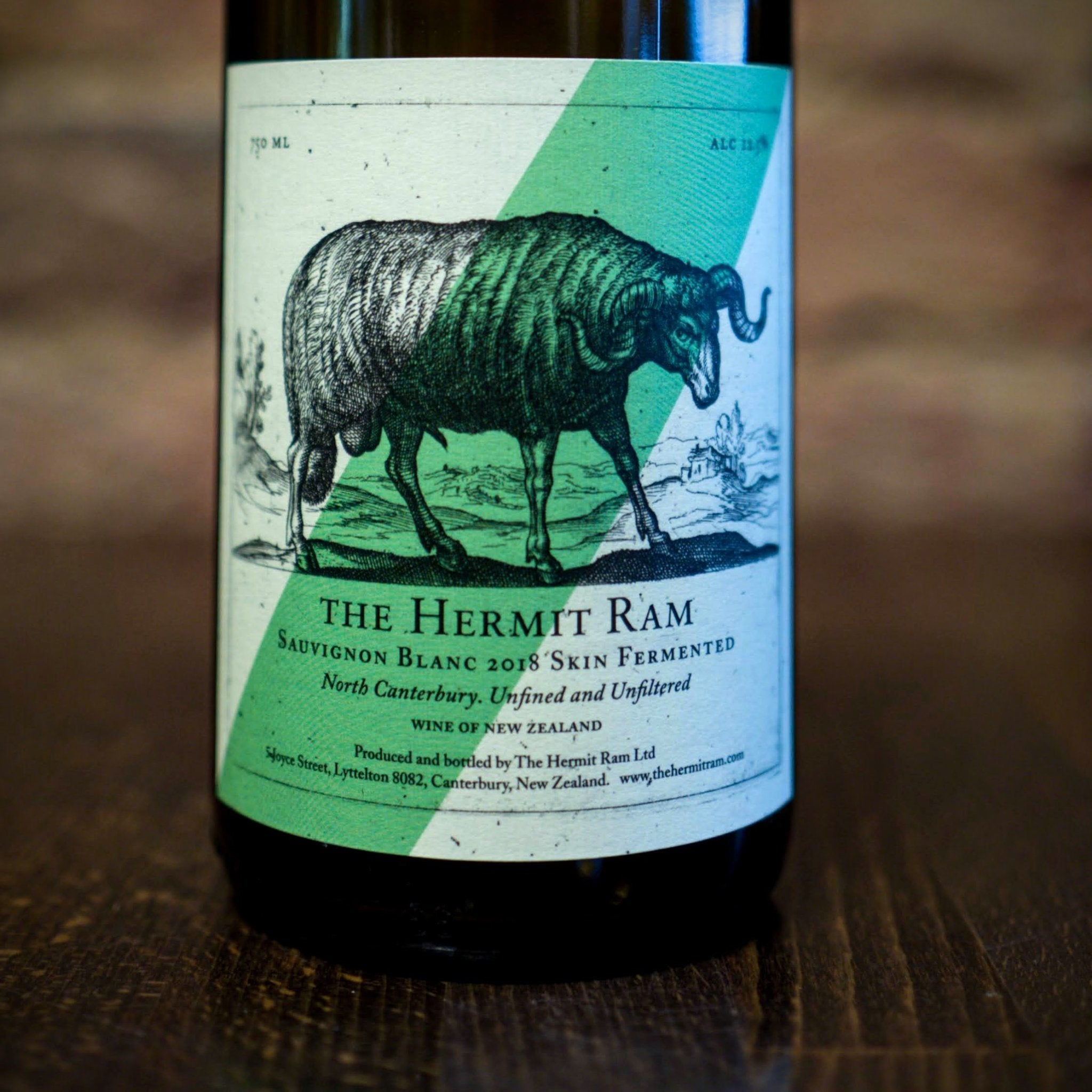 Sauvignon Blanc 2018, The Hermit Ram, New Zealand (Orange wine) - Vindinista