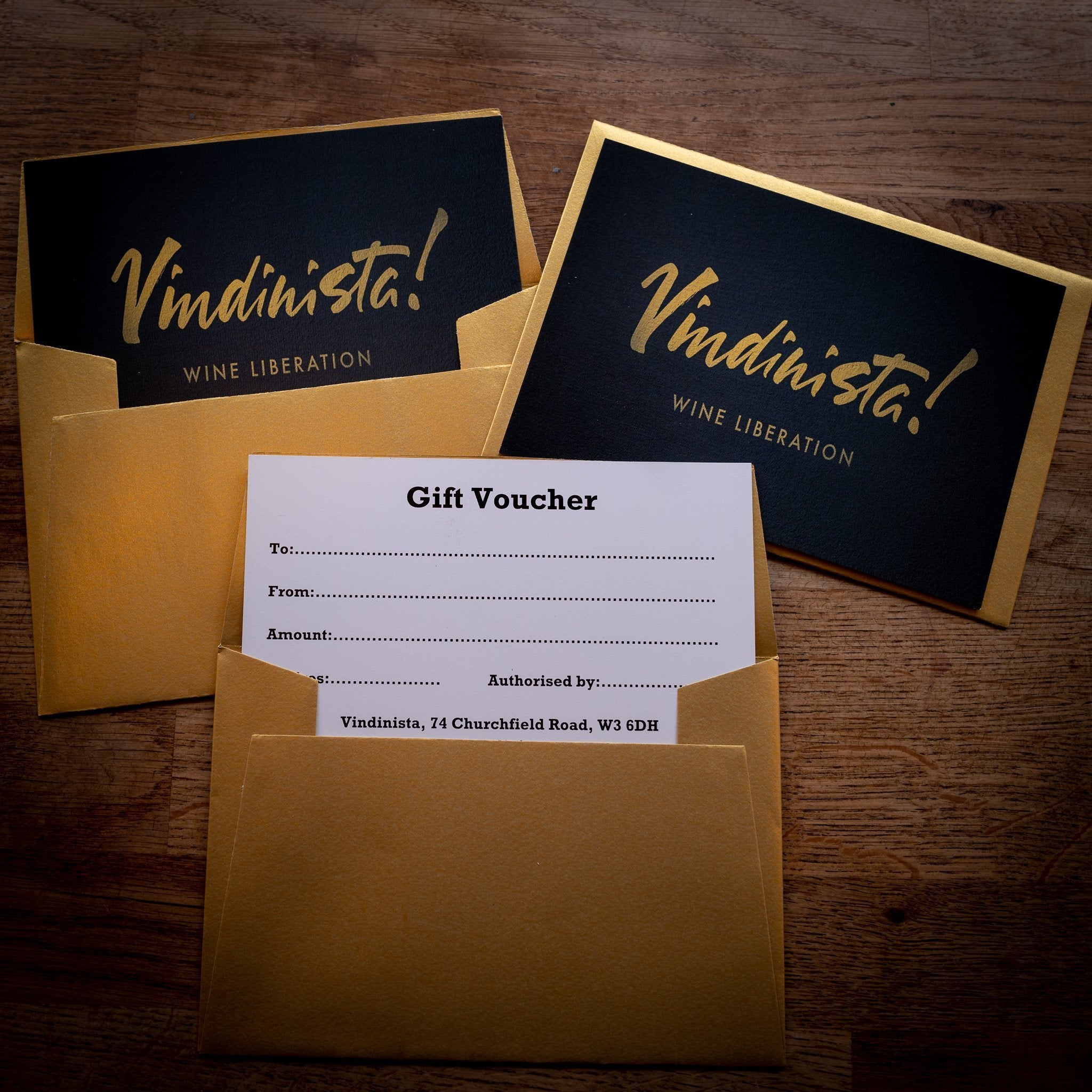 The £10 Gift Voucher - Vindinista