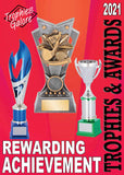Interleisure 2021 Catalogue of trophies, awards and medal available at GC Trophies