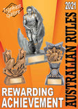 Interleisure 2021 AFL Aussie Rules Trophies from Gold Coast Trophies