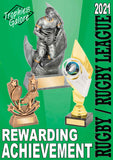 Interleisure 2021 Rugby and rugby union trophies from GC Trophies