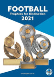 TCD Football - soccer trophies for 2021 catalogue at GC Trophies