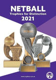 TCD Netball Trophies catalogue 2021 from Gold Coast Trophies