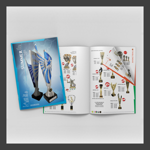 full range of catalogues for trophies available from Gold Coast Trophies