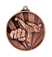 Load image into Gallery viewer, Marital Arts Sunrise Medal - 50mm