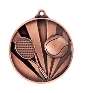Tennis Sunrise Medal - 50mm