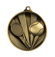Load image into Gallery viewer, Tennis Sunrise Medal - 50mm