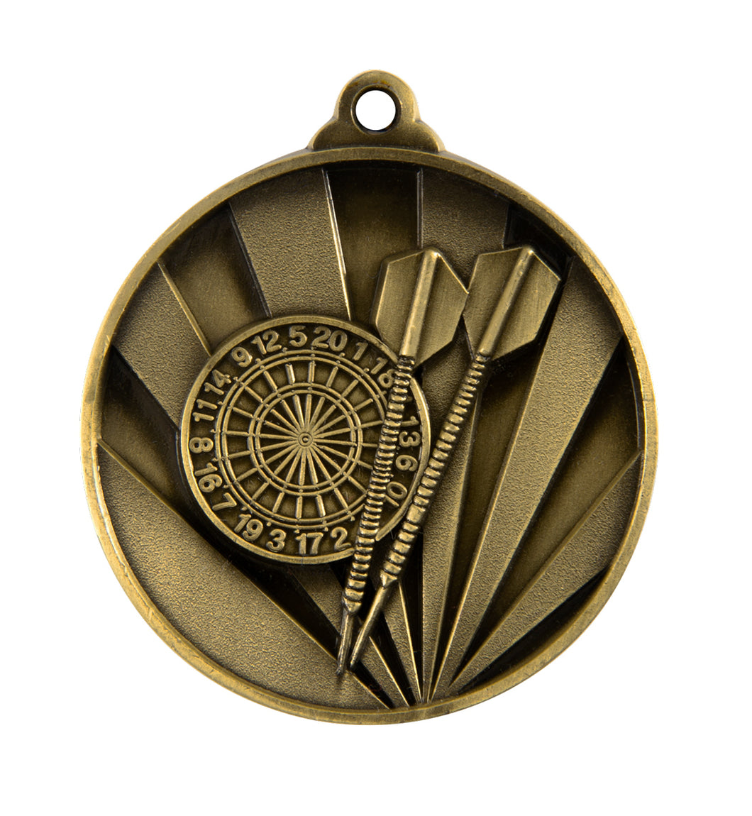 Darts Sunrise Medal - 50mm