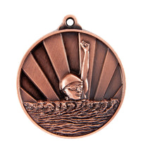 Load image into Gallery viewer, Swimming Sunrise Medal - 50mm