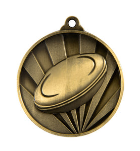 Rugby Sunrise Medal - 50mm